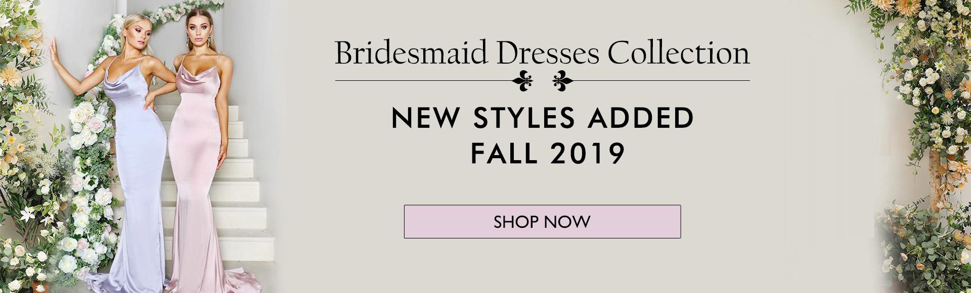 Bridesmaid Dresses 2019