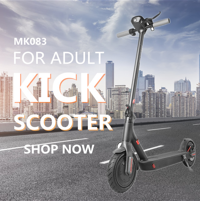 eletric scooter BLACK