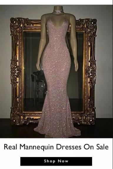 Long Mannequin Dresses