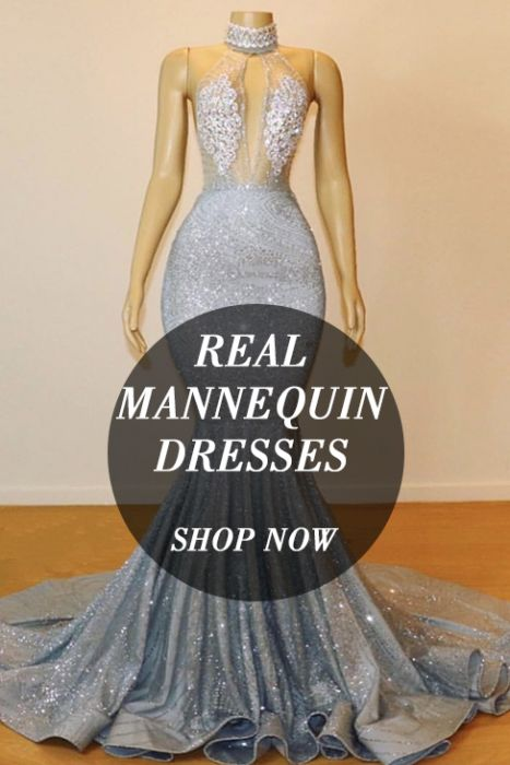 Long Mannequin Dresses