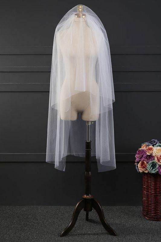 Cheap Tulle Cut Edge 1.2*1.5M Wedding Gloves