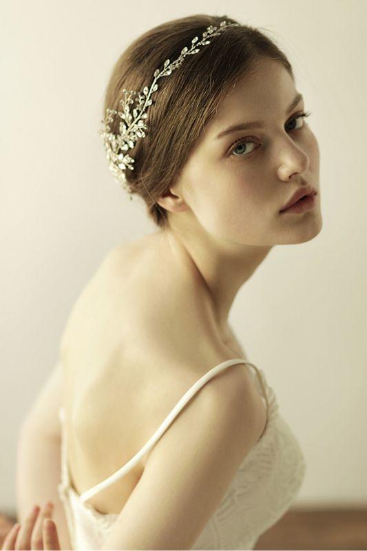 Elegant Alloy&Rhinestone  Special Occasion &Wedding Headbands Headpiece with Crystal