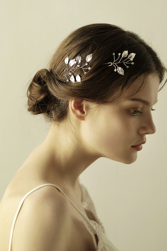 Beautiful Alloy Daily Wear Hairpins Headpiece with Imitation Pearls