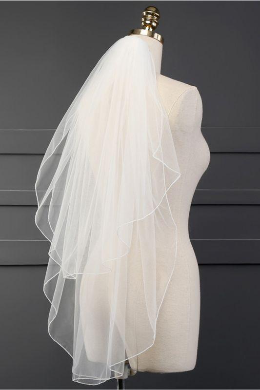 Cheap Tulle Cut Edge 1.5*1.5M Wedding Gloves