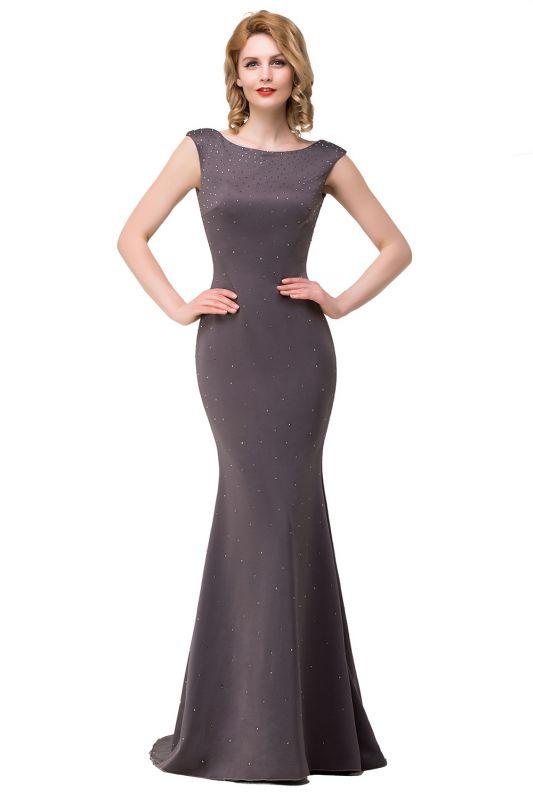 ERIKA | Mermaid Floor-Length Sleeveless Prom Dresses with Beads