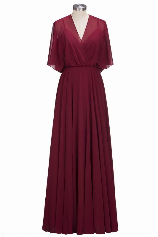 c7bb7c9bb4f9 Burgundy Chiffon Bridesmaid Dresses - raveitsafe