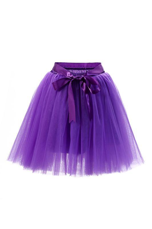 Amazing Tulle Short Mini Ball-Gown Skirts   Elastic Women's Skirts