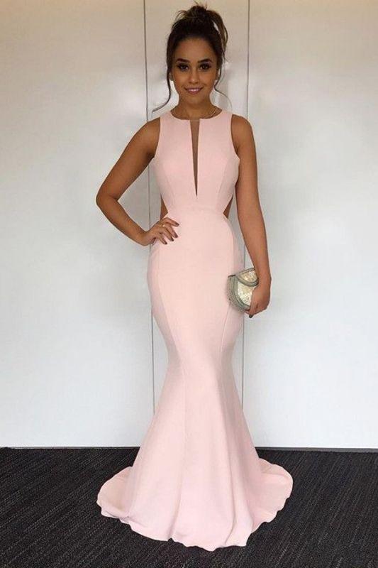 Newest V-neck Sleeveless Mermaid Prom Dress | Cheap Prom Dress