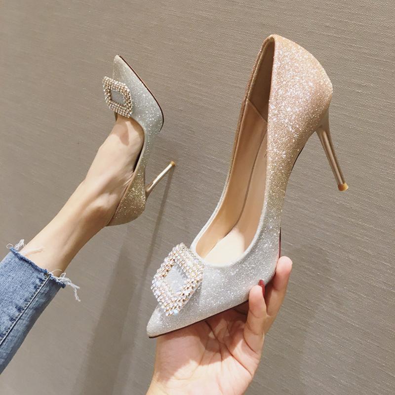 Elegante Stilettos Party Girls Damen Damen High Heel Schuhe