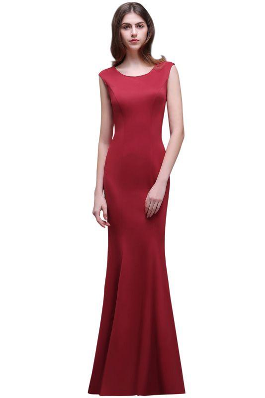 BETHANY | Sheath Scoop Floor-Length Elegant Evening Dresses