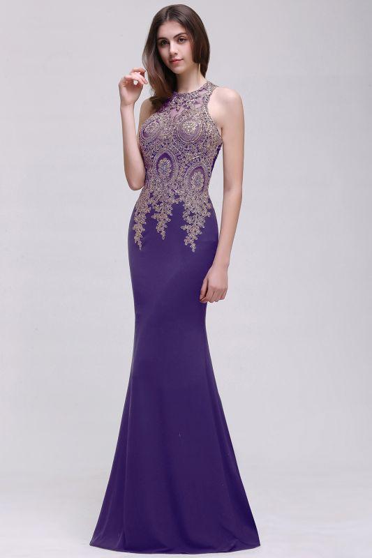 BROOKLYNN | Mermaid Black Prom Dresses with Lace Appliques