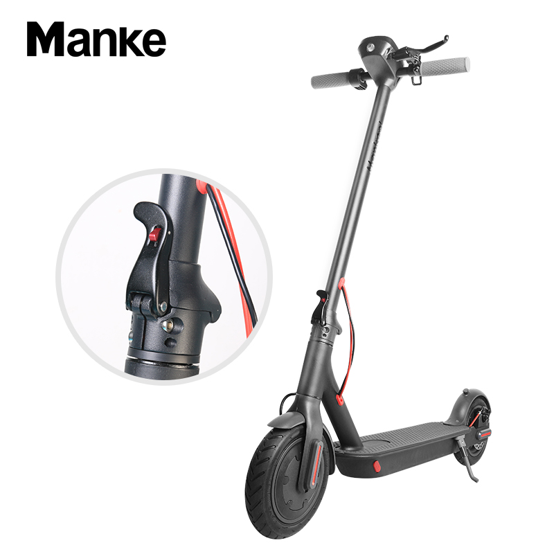 Vélo électrique adulte léger pliable noir du scooter électrique 250w