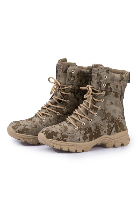 Ankle Combat Boots Waterproof Tactical Work Boot Lace Up Outdoor Boots