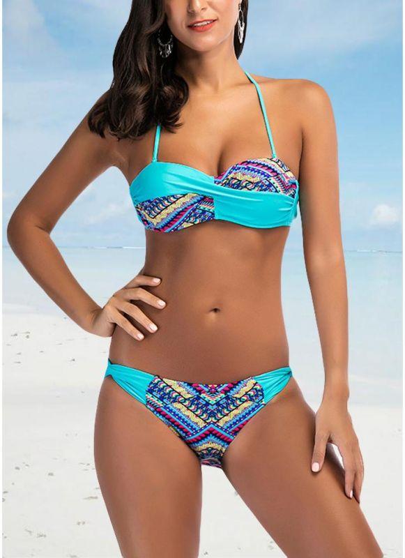 Women Sexy Bikini Set Padded Top Bottom Beach Swimwear Swimsuit Bathing Suit