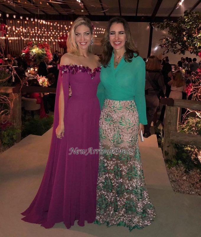Formal Long Ruffles Chiffon Gorgeous Sweetheart Evening Gowns