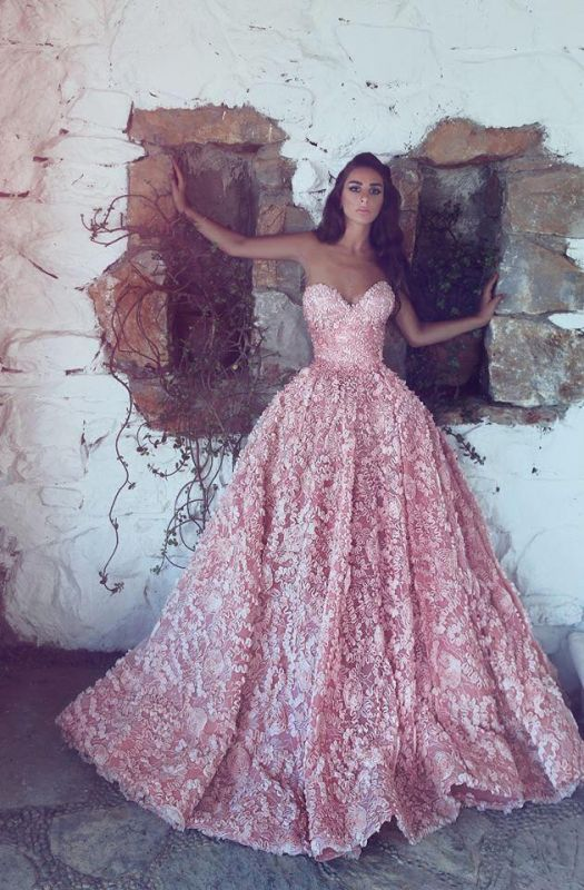 d5d64d00d9 Gorgeous Sweetheart Pink Prom DressPrincess With Appliques  Item Code   D153432584534835