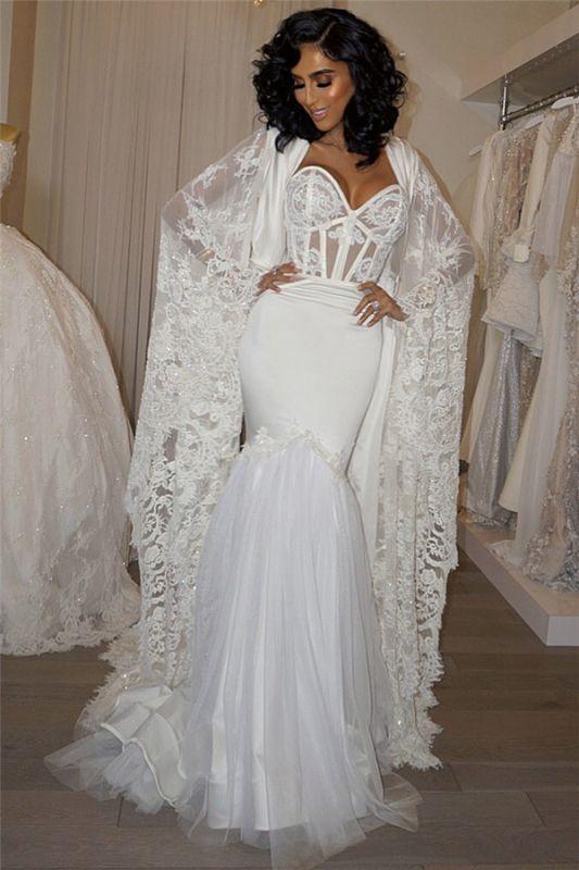 Sweetheart Sheath Lace Robe