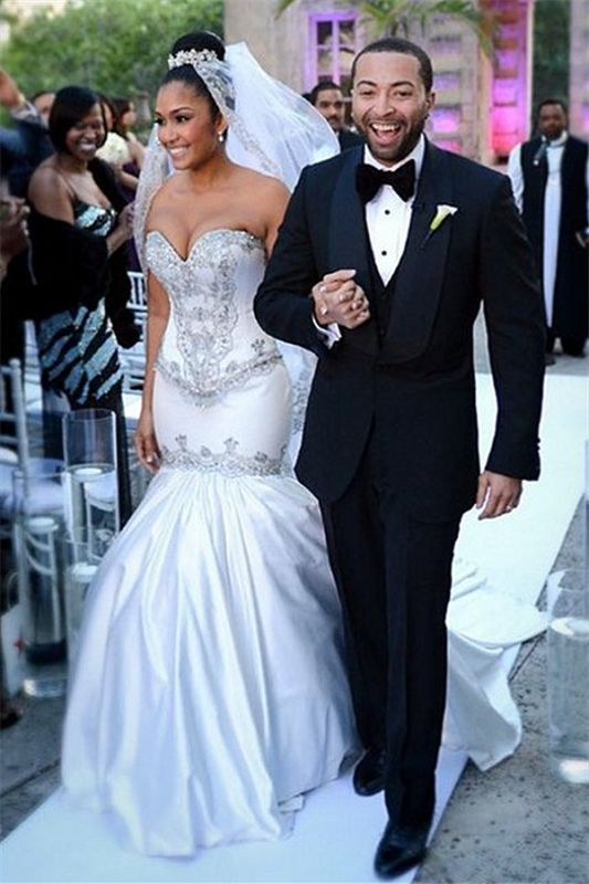 Wedding Dresses Miami.Mermaid Sweetheart Miami Wedding Dresses Sparkly Sequins Newest Bridal Gowns Ba2987