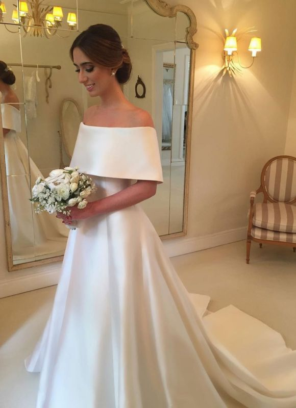 Pictures Of Simple But Elegant Wedding Gowns Raveitsafe