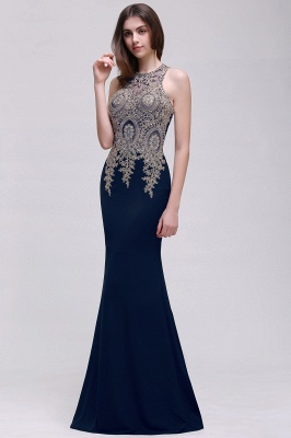 BROOKLYNN   Mermaid Black Prom Dresses with Lace Appliques_3