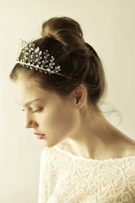 glamourous Alloy&Rhinestone Special Occasion &Wedding Hairpins Headpiece with Crystal_7