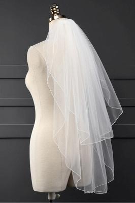 Cheap Tulle Cut Edge 1.5*1.5M Wedding Gloves_3