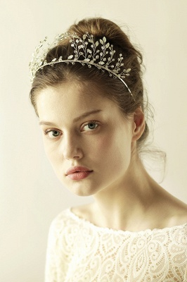 glamourous Alloy&Rhinestone Special Occasion &Wedding Hairpins Headpiece with Crystal_10