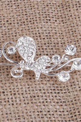 Elegant Alloy Special Occasion&Party Hairpins Headpiece with Rhinestone_2