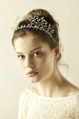 glamourous Alloy&Rhinestone Special Occasion &Wedding Hairpins Headpiece with Crystal_6