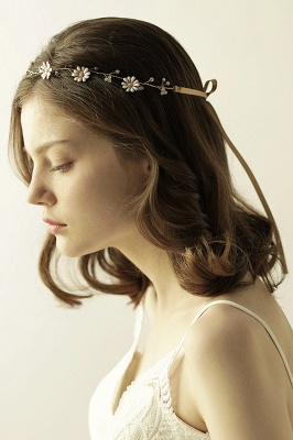 Floral  Alloy Party Headbands Headpiece with Rhinestone_2