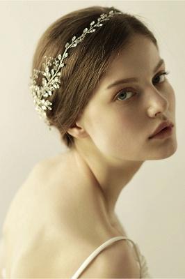 Elegant Alloy&Rhinestone  Special Occasion &Wedding Headbands Headpiece with Crystal_7