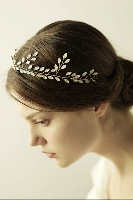 Glamourous Alloy Party Headbands Headpiece with Crystal_7