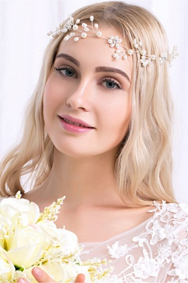 Cute Alloy &Imitation Pearls Special Occasion&Party Hairpins Headpiece with Rhinestone