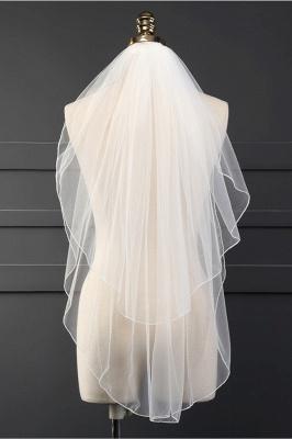 Cheap Tulle Cut Edge 1.5*1.5M Wedding Gloves_1