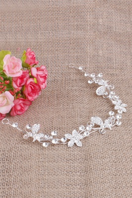 Elegant Alloy Special Occasion&Party Hairpins Headpiece with Rhinestone_3