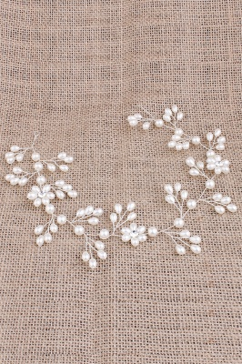 Cute Alloy &Imitation Pearls Special Occasion&Party Hairpins Headpiece with Rhinestone_4
