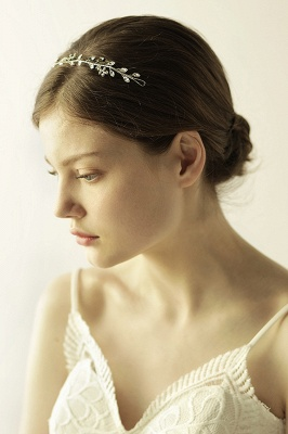 Elegant Alloy&Rhinestone  Special Occasion &Wedding Headbands Headpiece with Crystal_4