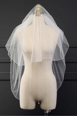 Cheap Tulle Cut Edge 1.5*1.5M Wedding Gloves_5