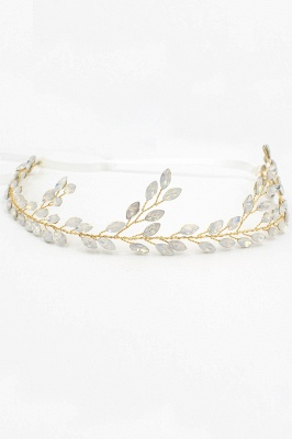 Glamourous Alloy Party Headbands Headpiece with Crystal_11