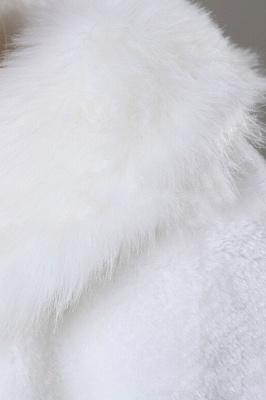 Elegant Warm Tulle White Half-Sleeves Casual Bride Wedding Wraps_5