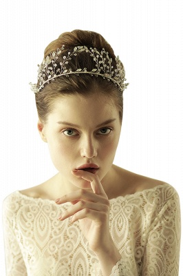 glamourous Alloy&Rhinestone Special Occasion &Wedding Hairpins Headpiece with Crystal_8