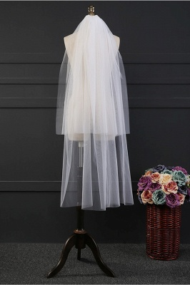 Cheap Tulle Cut Edge 1.2*1.5M Wedding Gloves_2
