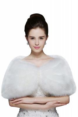 Sexy Tulle White Half-Sleeves Casual Bride Wedding Wraps