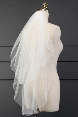 Cheap Tulle Cut Edge 1.5*1.5M Wedding Gloves_2