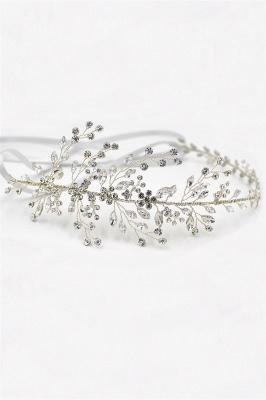Elegant Alloy&Rhinestone  Special Occasion &Wedding Headbands Headpiece with Crystal_1