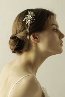 Beautiful Alloy Special Occasion Hairpins Headpiece with Rhinestone_7