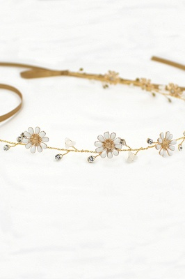 Floral  Alloy Party Headbands Headpiece with Rhinestone_9