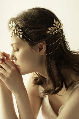 Lovely Alloy&Rhinestone Party Combs-Barrettes Headpiece with Imitation Pearls_3