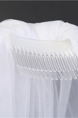 Cheap Tulle Cut Edge 1.2*1.5M Wedding Gloves_6