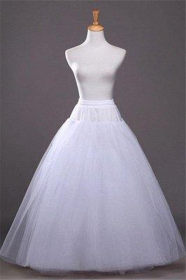 Cheap A-line Tulle Taffeta Wedding Petticoat